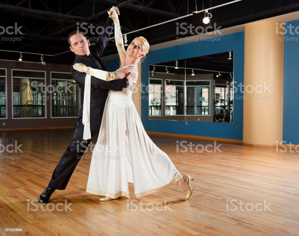 Ballroom Dancing Couple stock photo