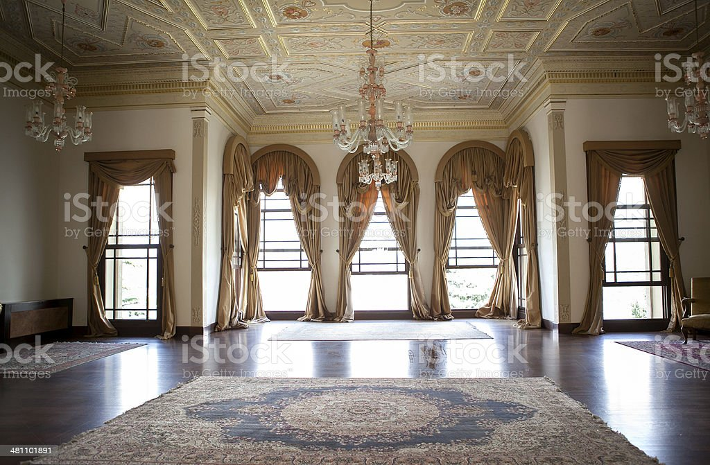 ballroom stock photo
