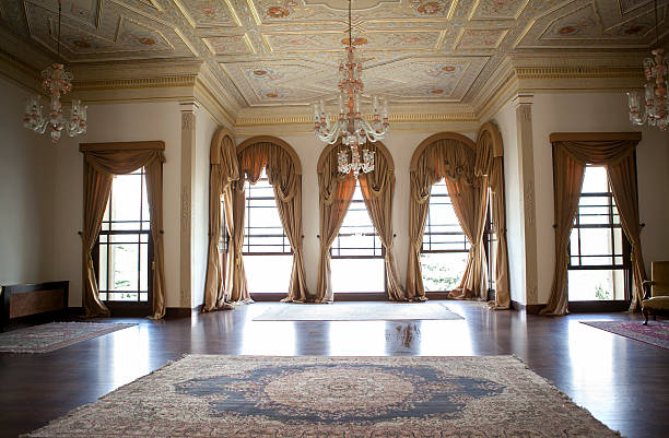 ballroom - baroque stock photos and pictures