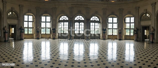 istock Ballroom, reflected 94330469