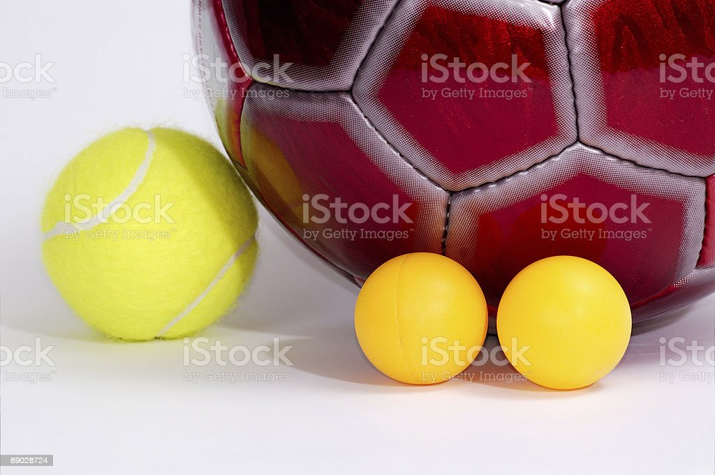 Balls for game in … 2 royalty-free stock photo