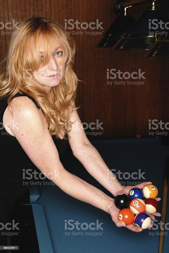 Balls In Hand royalty-free stock photo