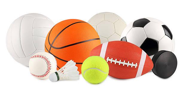 공 스포츠 3 스톡 사진