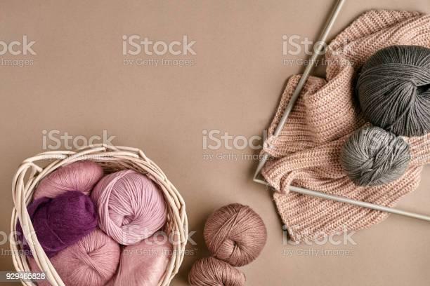 Balls of merino wool yarn knitting on knitting needles on a beige picture id929465828?b=1&k=6&m=929465828&s=612x612&h= wwzs0nraedn8xa pao5agblr4cg19d1exokx2uzjkc=