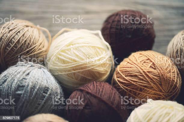 Balls of wool on a wooden background picture id529807175?b=1&k=6&m=529807175&s=612x612&h=zezfkkhmhz4ldwtgqbh6vmfpgbf1j9gj72rp5if ilu=