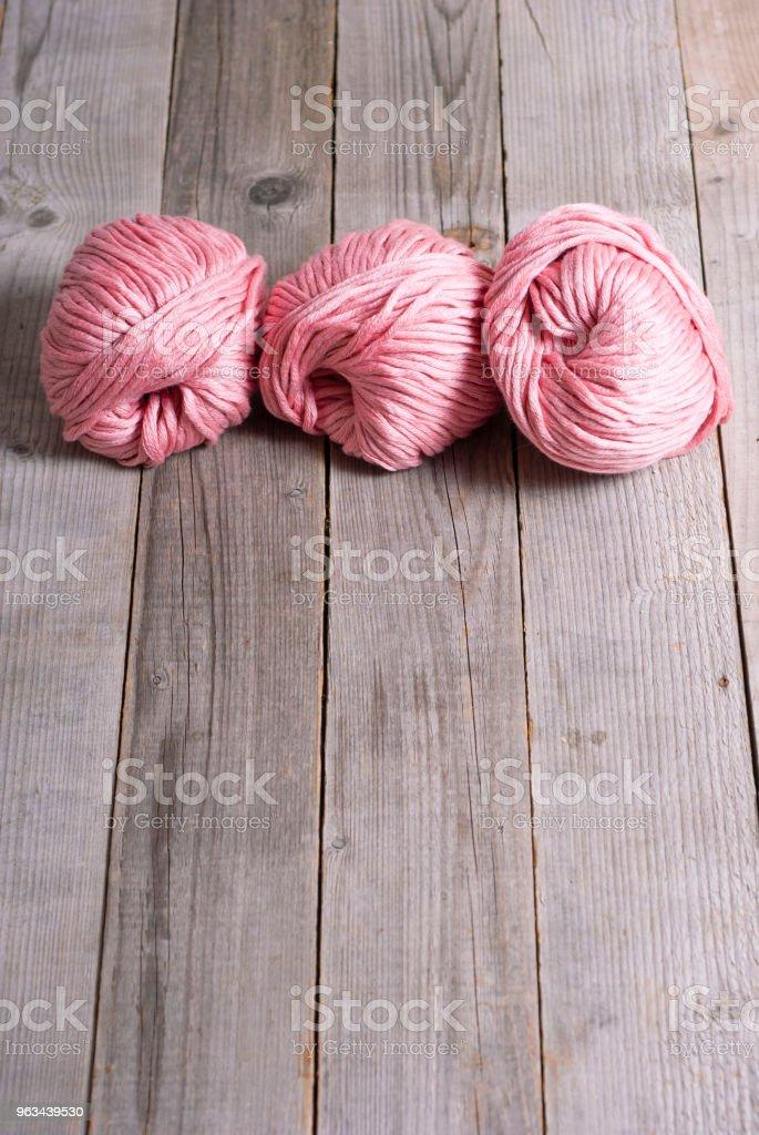 Balls of wool - Zbiór zdjęć royalty-free (Abstrakcja)
