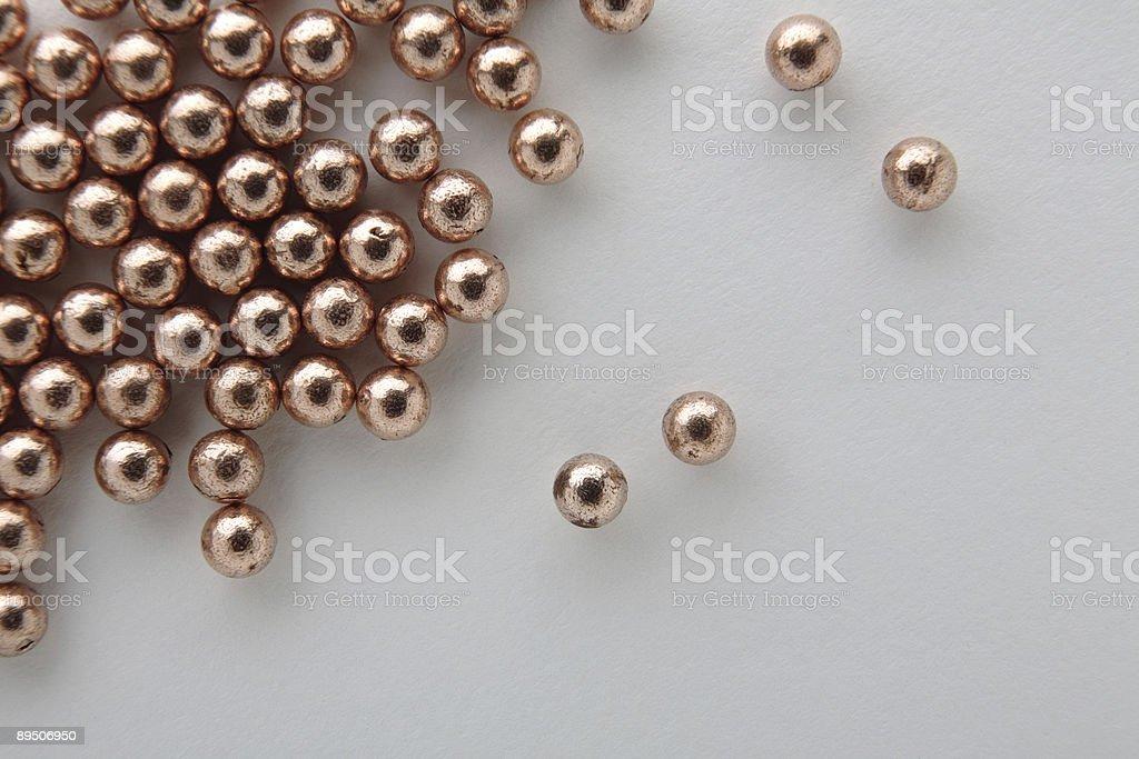 balls on white (bb's) royalty-free stock photo