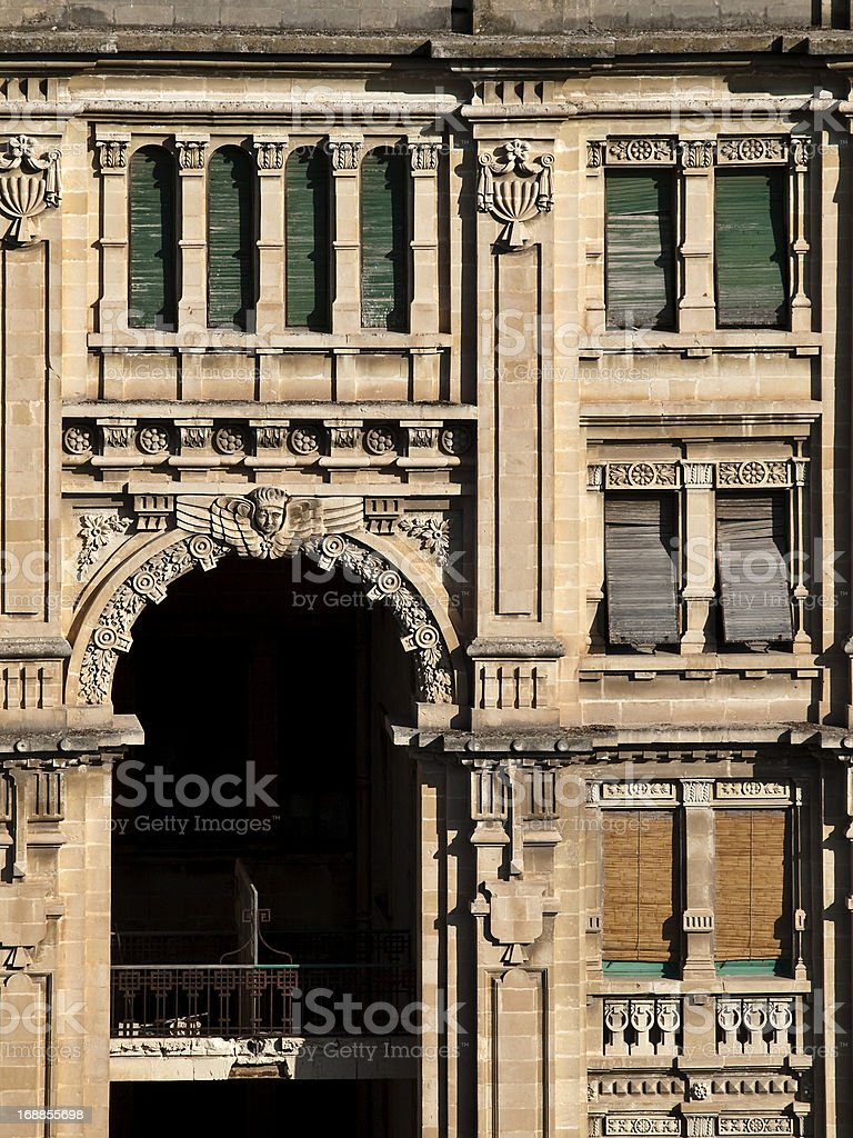 Balluta Buildings royalty-free stock photo