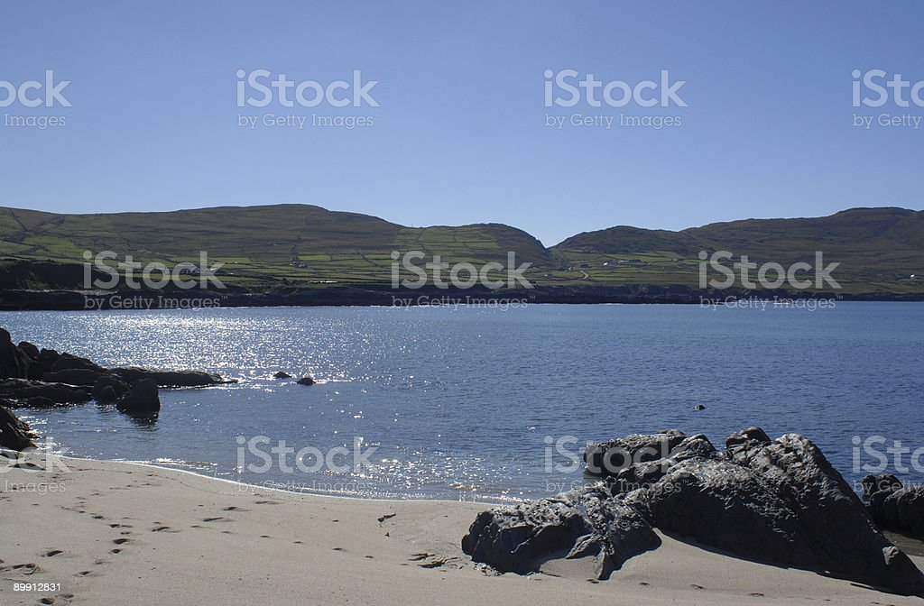 Ballydonegan, Allihies, Contea di Cork foto stock royalty-free