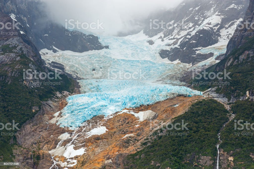 Balmaceda Glacier stock photo
