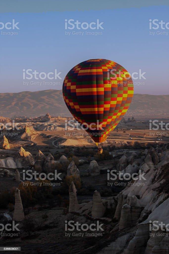 Baloon In Cappadocia stock photo