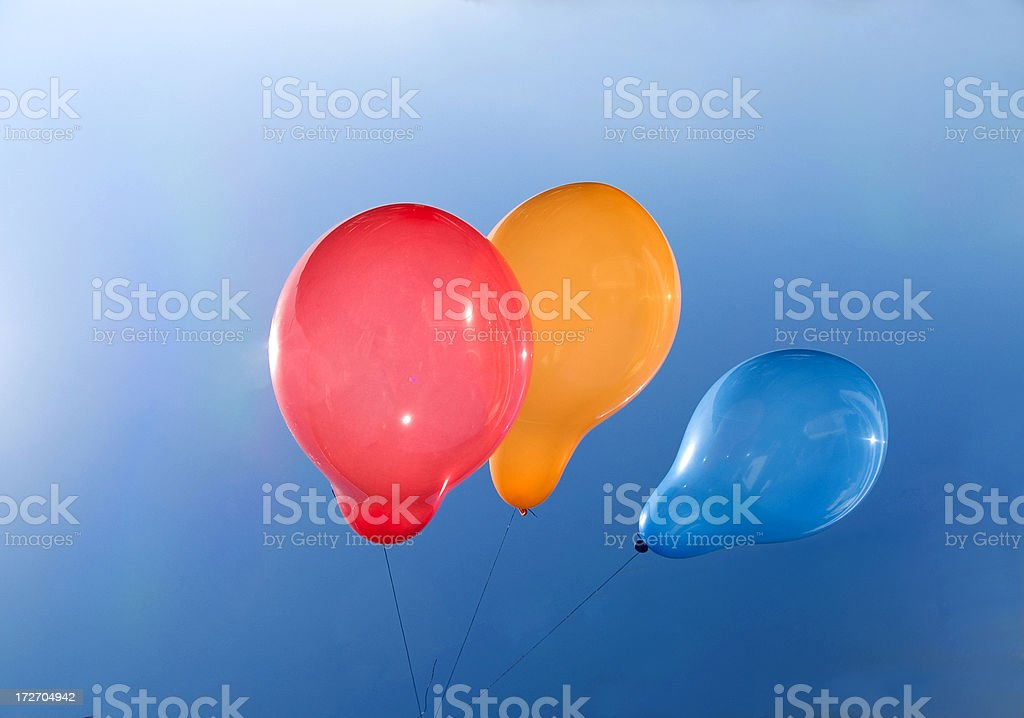 Baloons stock photo