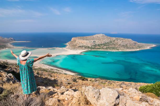 Balos Beach und Lagoon Panoramablick – Foto