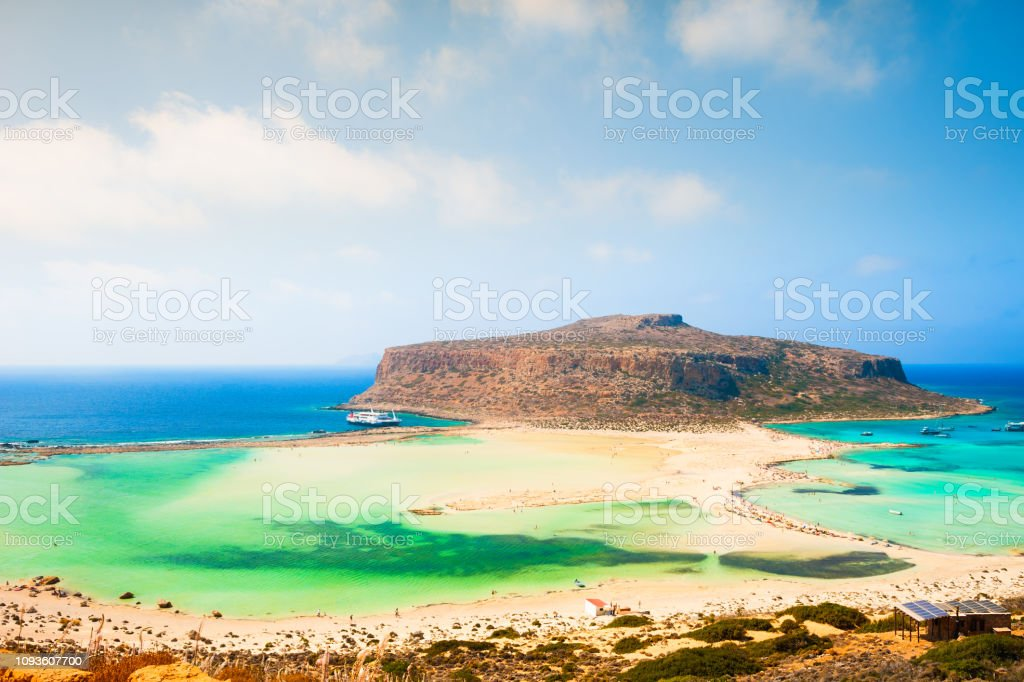 Balos Beach In Crete Island Greece Stock Photo Download Image Now