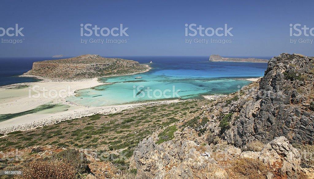 balos beach royalty-free stock photo