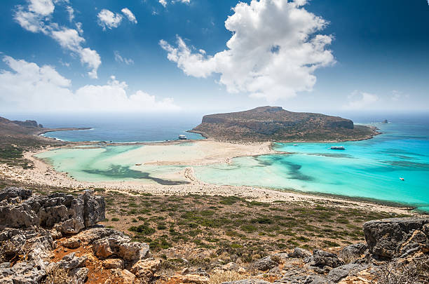 Balos lagoon on Crete island, Greece. – Foto