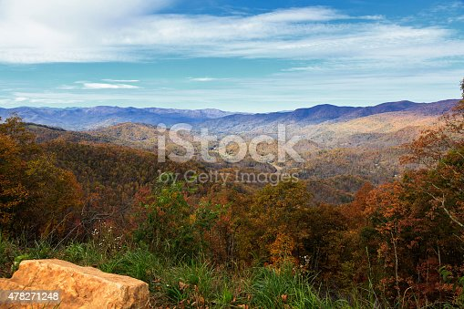 istock Balsam Mountain in NC 478271248