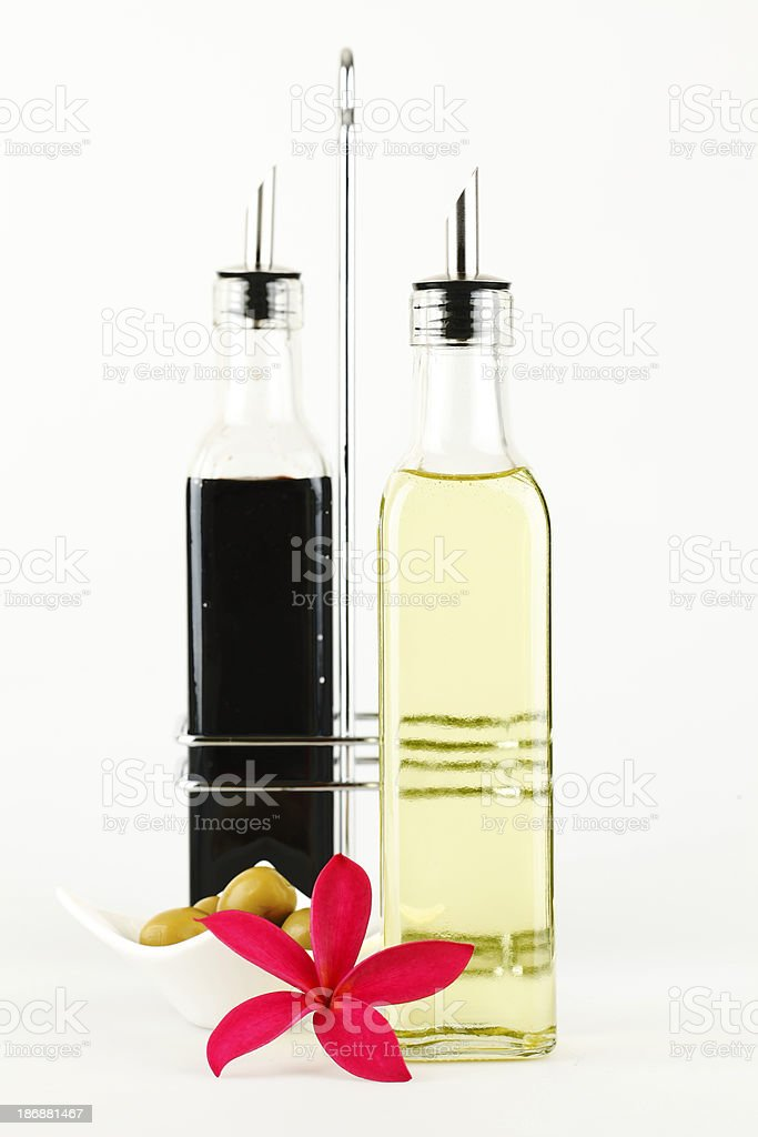 Balsamic & Olive Oil royalty-free stock photo
