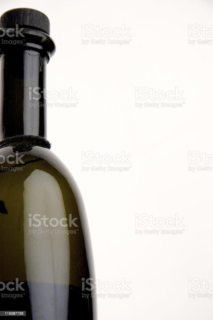 balsamic vinegar bottle royalty-free stock photo