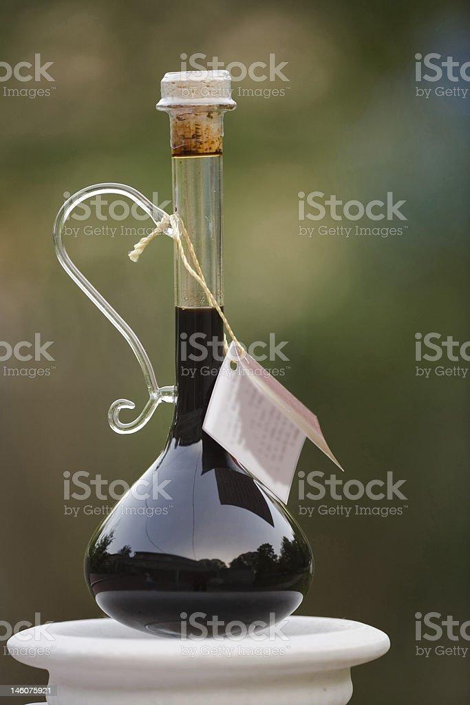Balsamic Vinegar. royalty-free stock photo