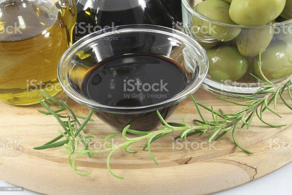 Balsamic vinegar royalty-free stock photo