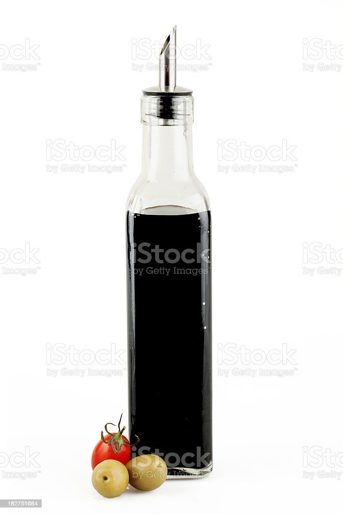 Balsamic vinegar royalty-free stock photo