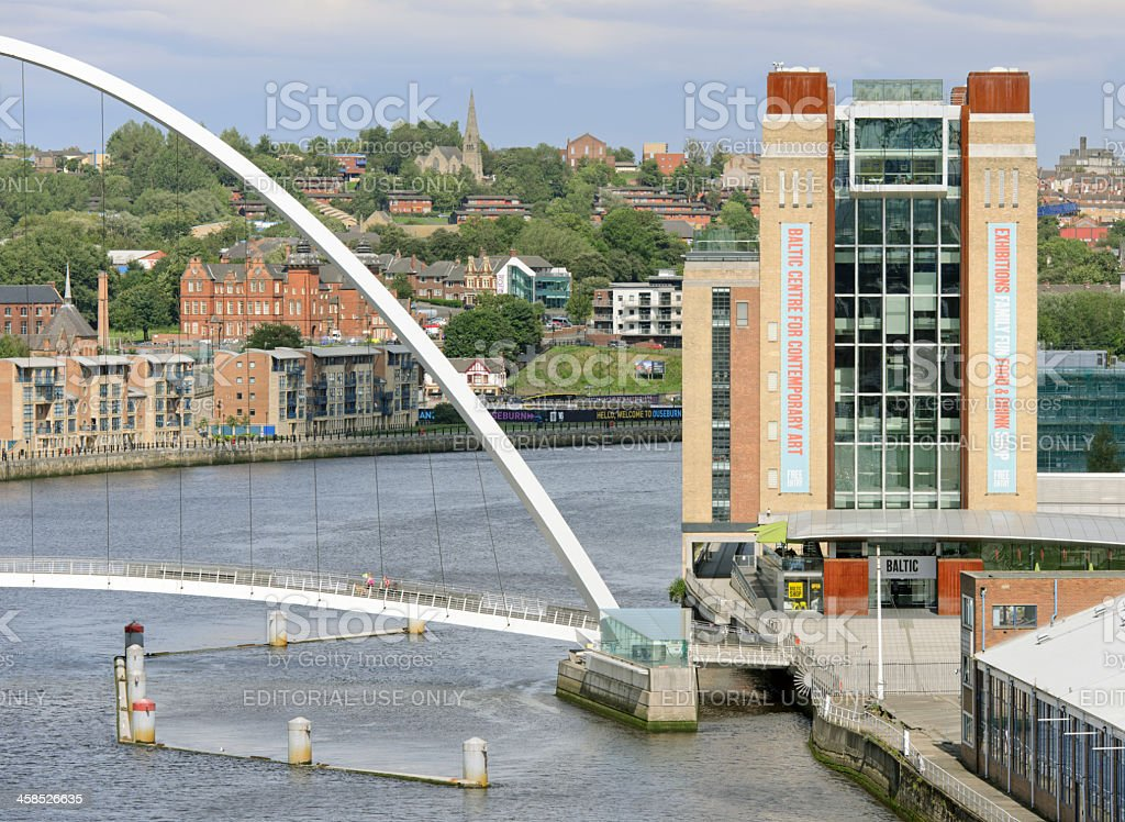 Baltic Centre For Contempory Arts, Gateshead stock photo