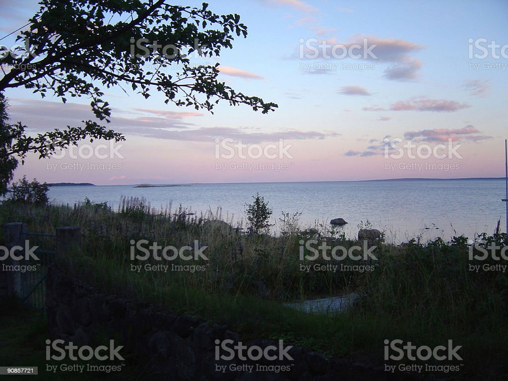 Baltic Dawn stock photo