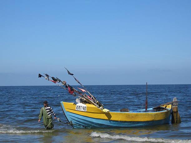 Baltic fisherman boat
