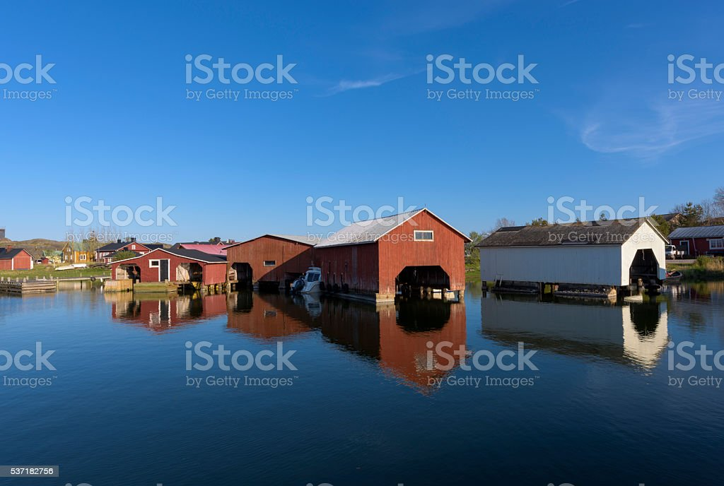 Baltic sea archipelago stock photo