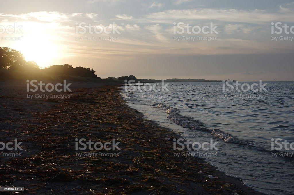 Baltic Sea at morning royalty-free stock photo