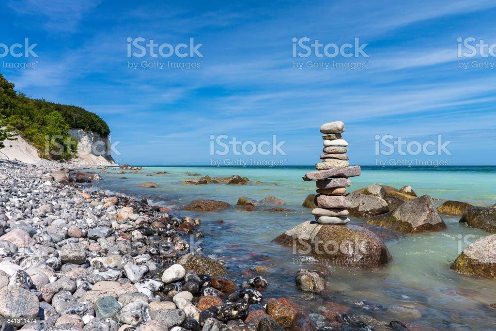 Ostseeküste auf der Insel Rügen, Deutschland – Foto