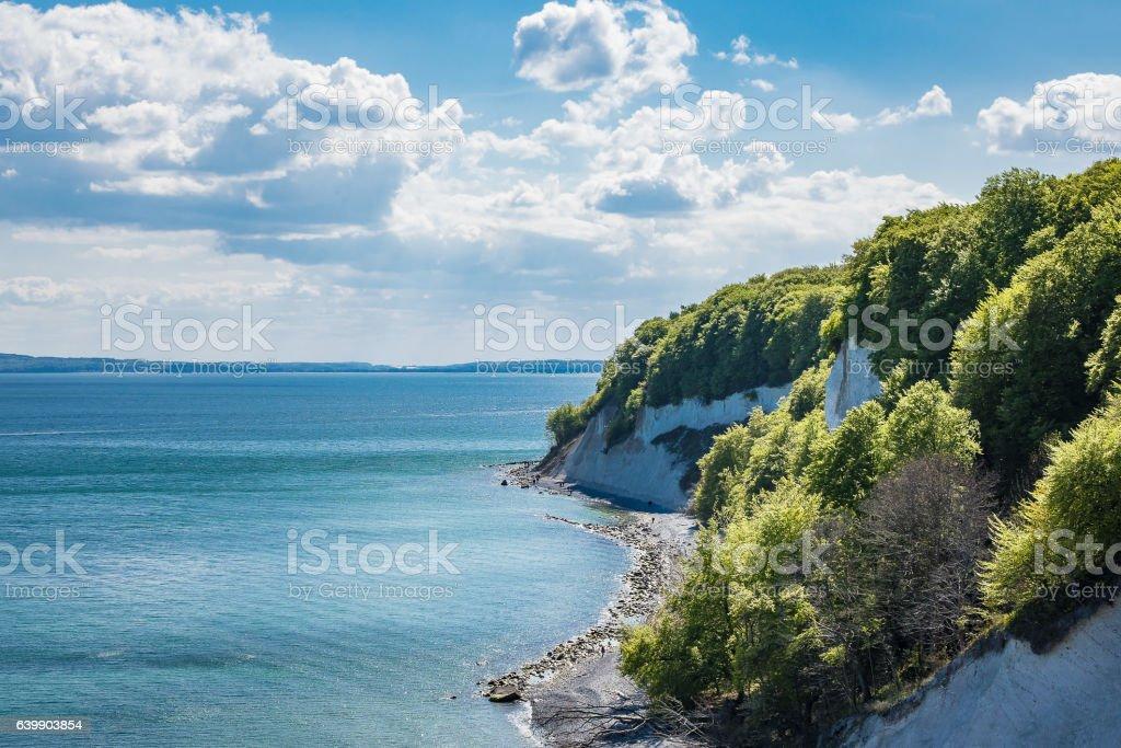 Baltic Sea coast on the island Ruegen in Germany – Foto