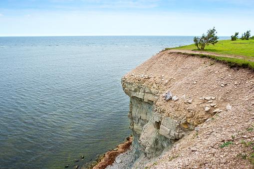 Baltic Sea coast. Saaremaa island, Estonia