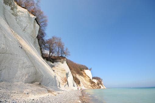 Baltic Sea Coastline Chalk Rock Insel Rügen (Germany)