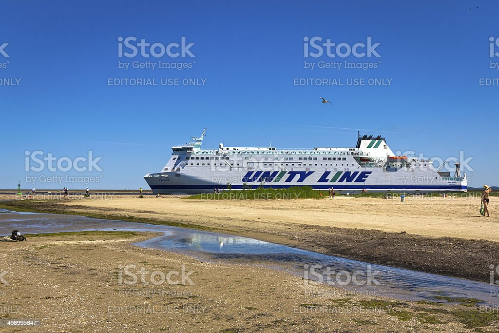 Baltic Sea Ferry royalty-free stock photo