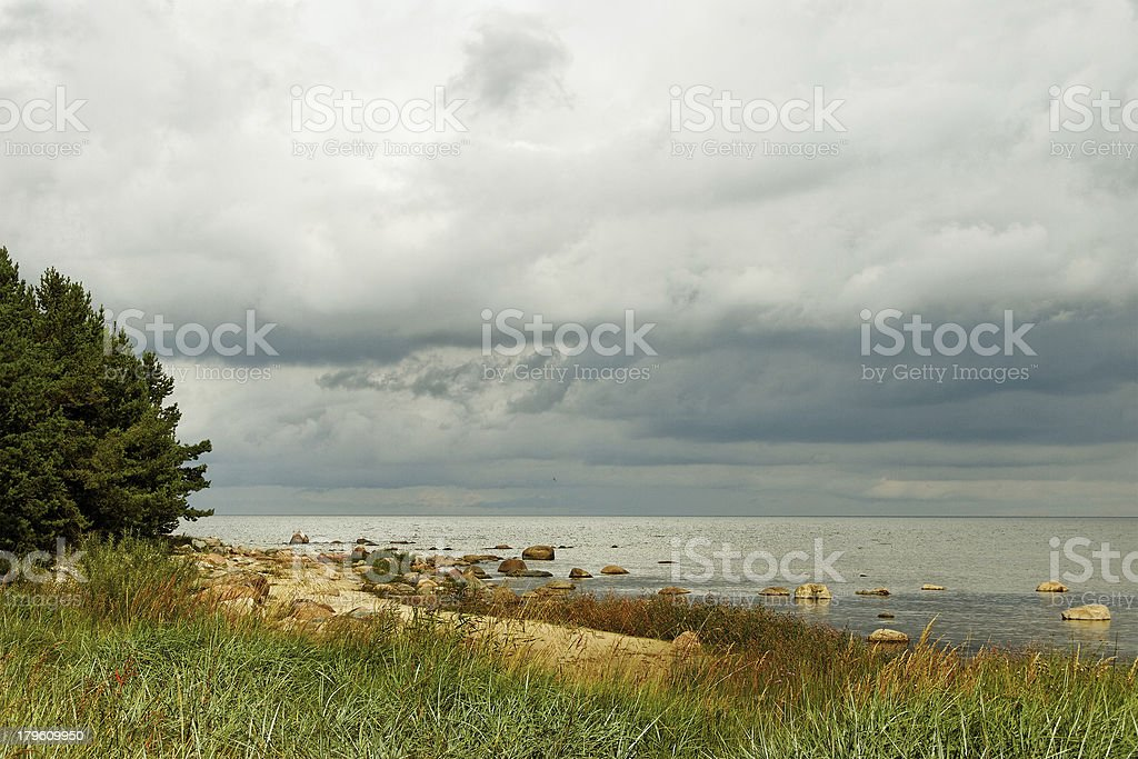 Baltic sea. royalty-free stock photo