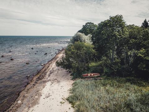Baltic sea shore near Kaltene, Latvia