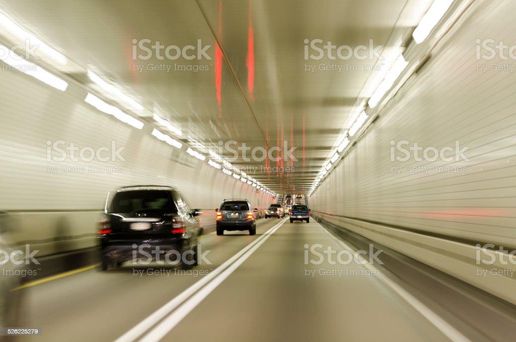 Baltimore Harbor Tunnel stock photo