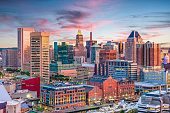 istock Baltimore, Maryland, USA Skyline 917774344