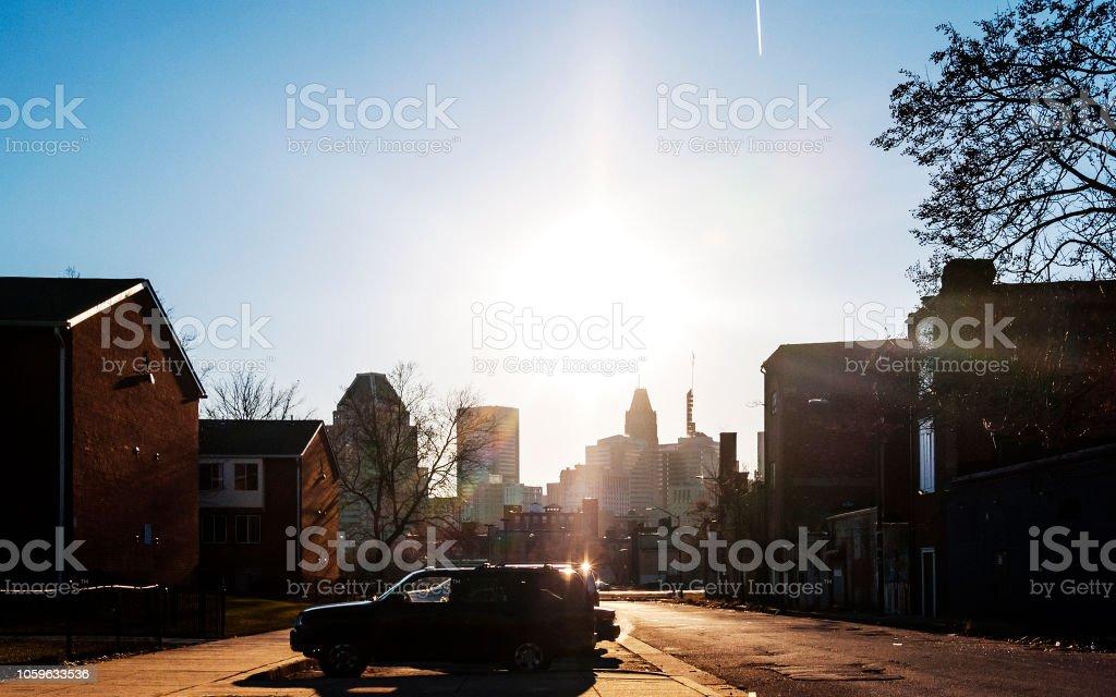 Baltimore MD stock photo