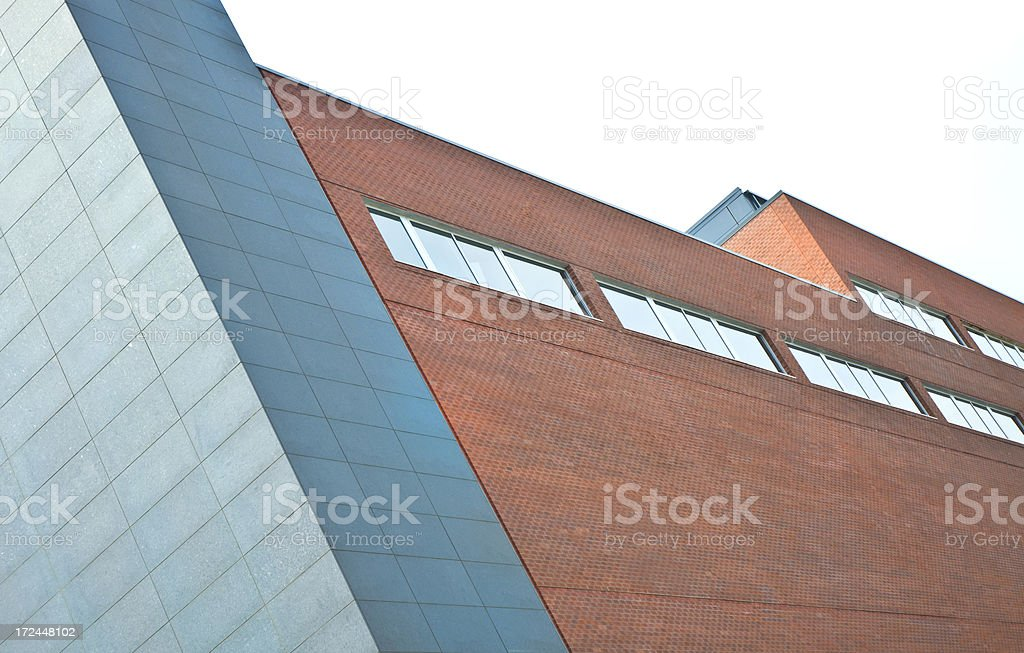 Baltimore Modern Office Buildings Cityscape royalty-free stock photo