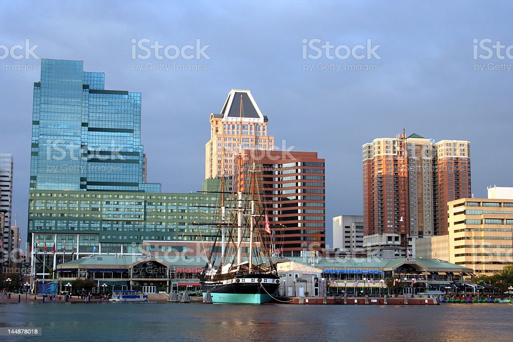 Baltimore on the Water stock photo