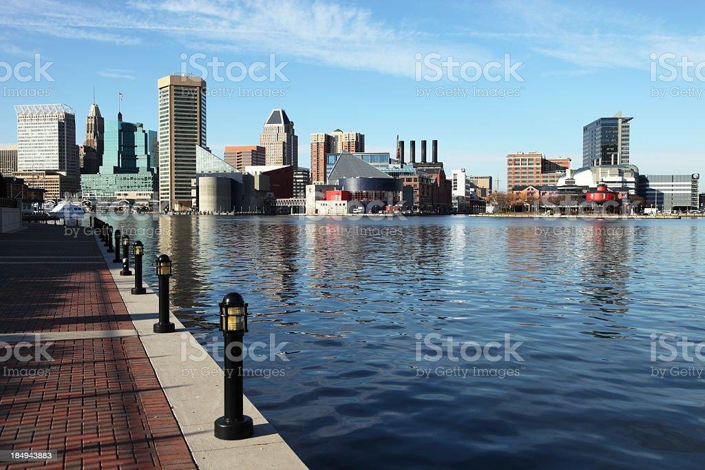 Baltimore royalty-free stock photo