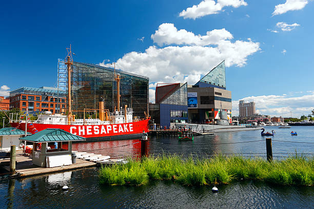 Baltimore Baltimore, Maryland, USA - September 09 2012. inner harbor baltimore stock pictures, royalty-free photos & images