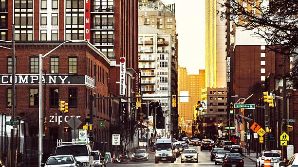 Baltimore traffic. stock photo