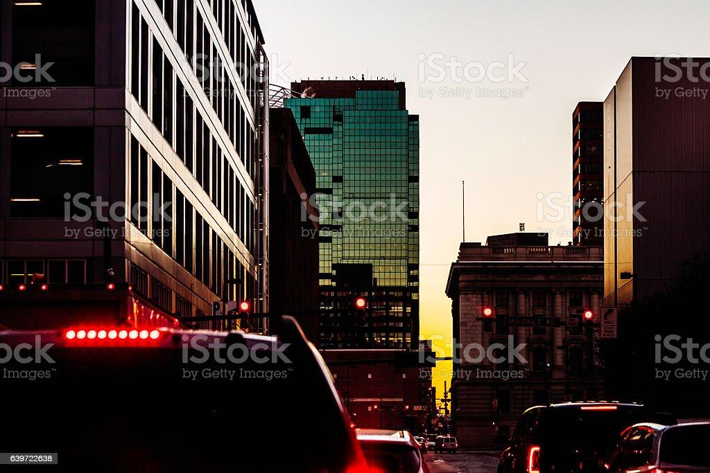 Baltimore Traffic Stock Photo - Download Image Now - iStock