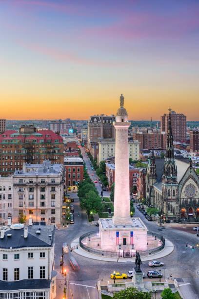 Baltimore Washington Memorial stock photo