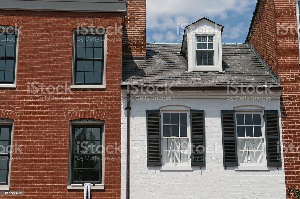 Baltimore's Federal Hill stock photo