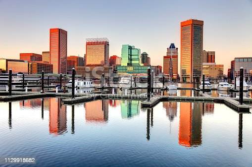 Baltimore's Inner Harbor is the city's premier tourist attraction and one of the city's crown jewels